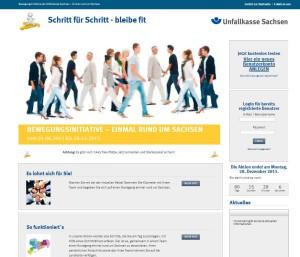 Bewegungsinitiative der Unfallkasse Sachsen